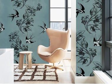 Wall tiles / wallpaper SWALLOWS
