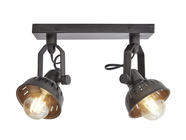 Lampada da soffitto orientabile in ferro SWIVEL | Lampada da soffitto