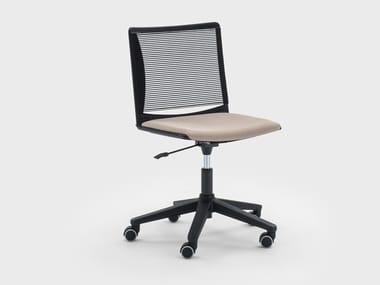 Height-adjustable swivel fabric office chair WINNER | Swivel office chair