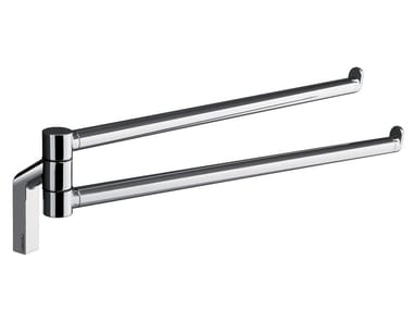 Swivel metal towel rack KARMA | Swivel towel rack