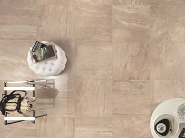 Porcelain stoneware flooring with marble effect SYMPHONY | Flooring