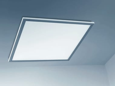 LED direct-indirect light acrylic glass Lamp for false ceiling SYNTO