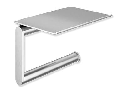 Portarotolo in acciaio con mensola SYSTEM 900 | Portarotolo