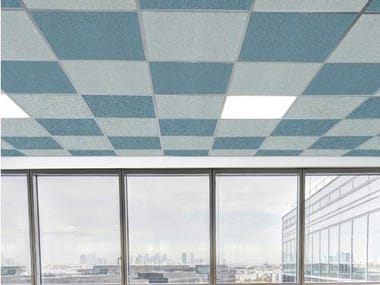 Sound absorbing ceiling panels T-LIGHT FALSE CEILING
