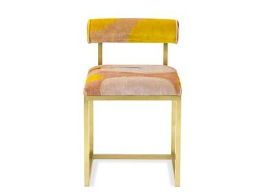 Upholstered velvet chair T   Upholstered chair