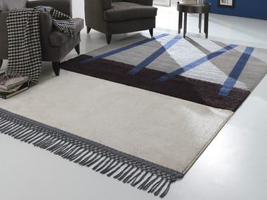 Handmade fabric rug NEW FEELINGS T1405NVS