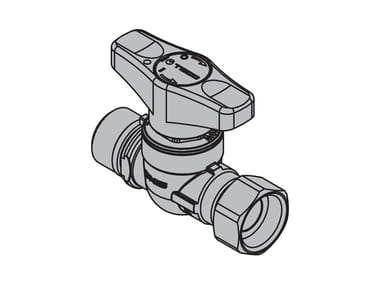 Top entry valve for metering systems T4J Straight valve – mx threaded