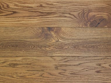 2 layers brushed oak parquet TABACCO HAVANA