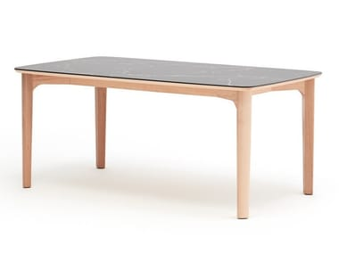 Rectangular Sintered stone table CONNERY | Table