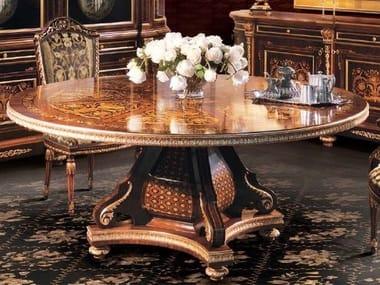 Tavolo rotondo in legno 1070 | Tavolo