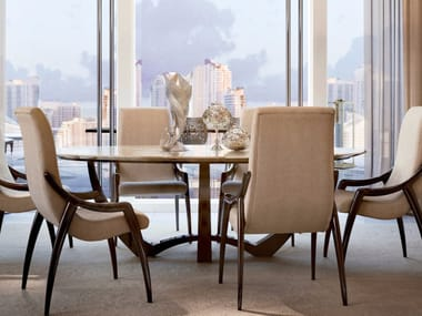 Tavolo da pranzo ovale SYMPHONY - INFINITY | Tavolo da pranzo