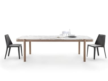 Rectangular marble table GUSTAV | Table