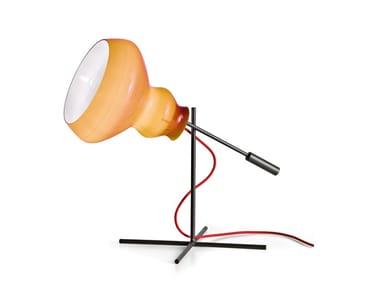 Lampada da tavolo in vetro BLOB | Lampada da tavolo