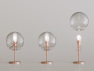 Lampada da tavolo in vetro VITRUVIO | Lampada da tavolo