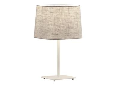 Lampada da tavolo in acciaio e PVC HENDRIX | Lampada da tavolo