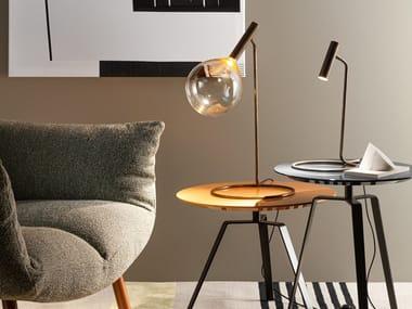 Borosilicate glass table lamp SOFÌ   Table lamp
