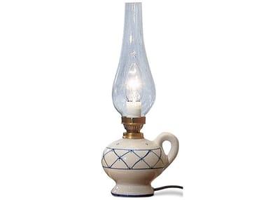 Lampada da tavolo in ceramica POMPEI | Lampada da tavolo