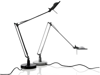 Lampe de table LED orientable en aluminium BERENICE | Lampe de table