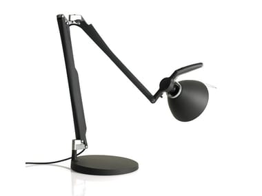 LED adjustable iron table lamp FORTEBRACCIO | Table lamp