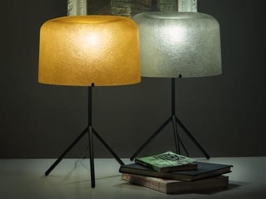 Glass-fibre table lamp OLA | Table lamp
