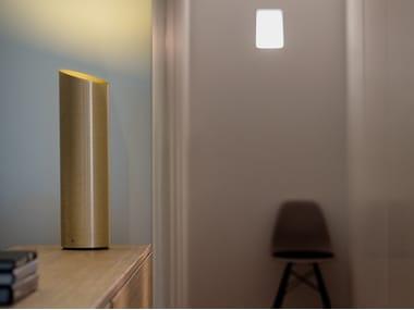 Lampada da tavolo in fibra di vetro con dimmer SLICE | Lampada da tavolo