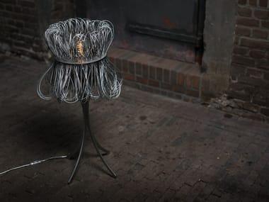 Lampada da tavolo a LED in metallo CLOCHE | Lampada da tavolo