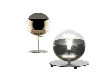 Lampada da tavolo a LED in vetro borosilicato BULLES XL | Lampada da tavolo