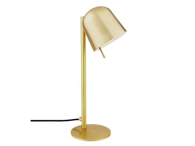 Direct light adjustable brass table lamp HÔ | Table lamp