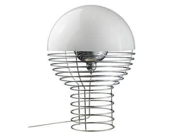 Steel table lamp WIRE | Table lamp