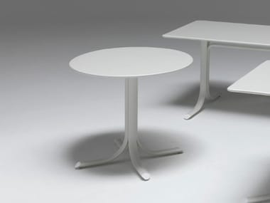 Folding round steel table TABLE SYSTEM | Round table