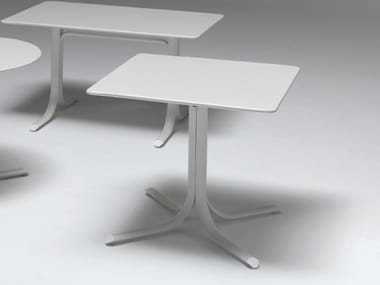 Folding square steel table TABLE SYSTEM | Square table