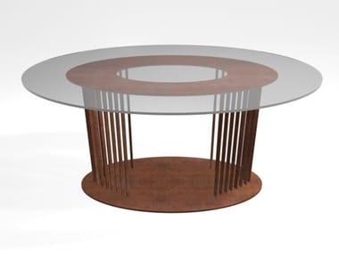 Tavoli ovali in vetro temperato | Archiproducts