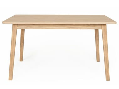 Rectangular wood veneer table SKAGEN | Table