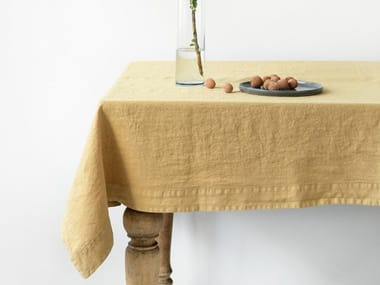 Linen tablecloth HONEY | Tablecloth