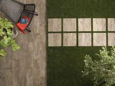 Porcelain stoneware outdoor floor tiles with wood effect TABLON | Outdoor floor tiles