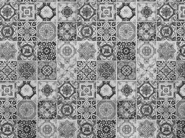 Wallpaper with encaustic effect TABS