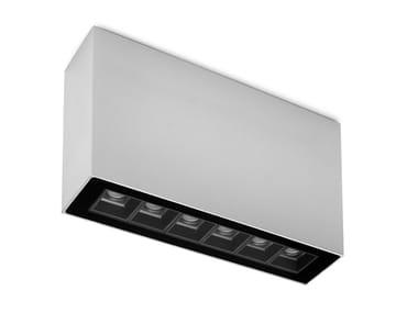 LED Außendeckenleuchte aus Aluminium strangpresst TAG 03