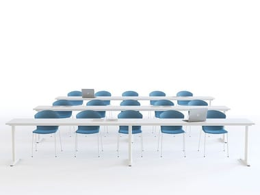 Folding meeting table TALENT | Meeting table