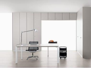Mobile ufficio alto con ante a battente con serratura PROGRAMMA 3 | Mobile ufficio alto