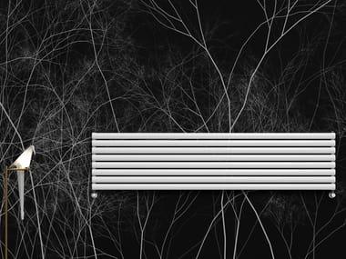 Termoarredo ad acqua calda orizzontale in acciaio al carbonio TAMARA | Termoarredo orizzontale
