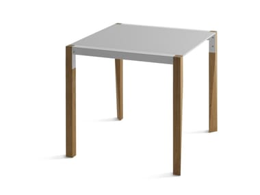 Square Fenix-NTM® table TANGO BISTROT