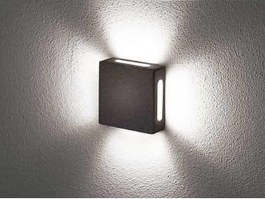 Lampada da parete / lampada da soffitto in alluminio Tango K-X (interior)