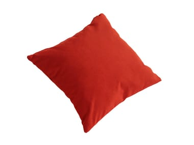 Solid-color square fabric cushion TANGRAM IS5 T550