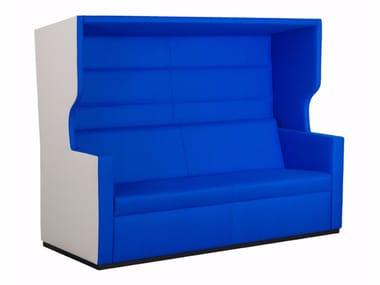 Sofa aus Stoff mit hoher Rückenlehne TANK ROOF | Sofa