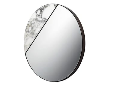 Wall-mounted marble mirror TAREG
