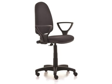Height-adjustable task chair with armrests VIKY | Task chair