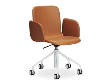 Swivel task chair with castors SOLA | Task chair