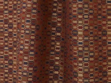 Jacquard washable polyester fabric KHAN