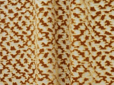 Tessuto jacquard in viscosa con motivi grafici BOUKHARA