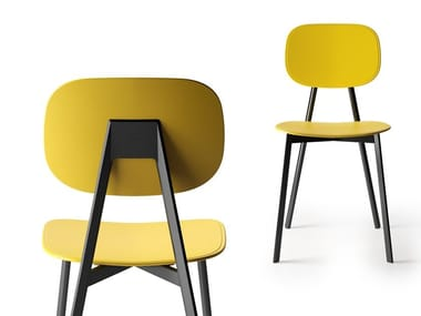 Open back technopolymer chair TATA   Technopolymer chair